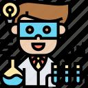 problem, solving, hypothesis, researcher, scientist