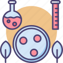 biology, cellular, chemical flask, test tube icon