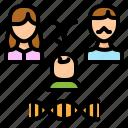 pedigrees, biology, heredity, family, human, genetics