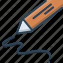 identity, recognition, signature, signature recognition icon