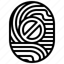 access, denied, blocked, scan, block icon