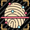 authorization, biometric, fingerprint, identification, scanning