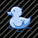 animal, aquatic bird, bird, domestic duck, duck, waterbird, waterfowl icon