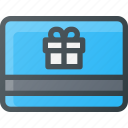 birthday, coupon, credit, gift, giftcard, shopping, voucher icon