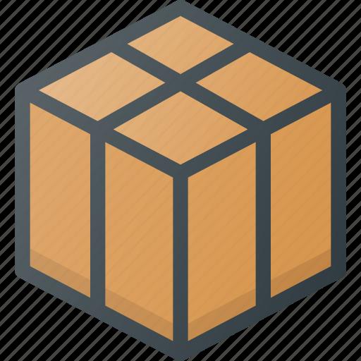 birthday, box, gift, present icon