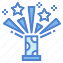 celebration, fireworks, light, party icon
