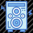 audio, sound, speaker, technology icon