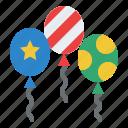 balloon, birthday, decoration, party