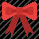 bow, celebration, festive, party