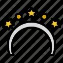 decoration, funny, headband, party icon