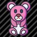 bear, teddy, doll, cute, gift