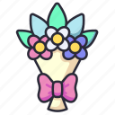 bouquet, flower, decoration, blossom, flowers