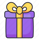 gift, box, present, birthday, surprise
