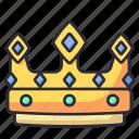 king, queen, crown, luxury, jewelry