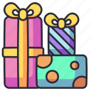 present, gift, celebration, box, surprise