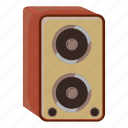 amplifier, cartoon, celebration, music, party, sound, speaker icon