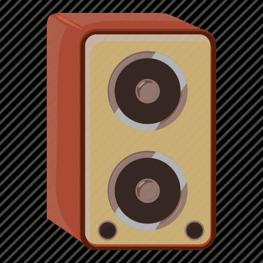 amplifier, cartoon, celebration, music, party, sound, speaker icon