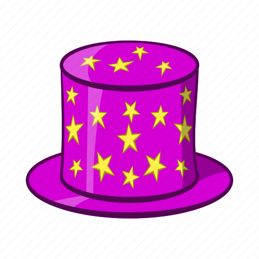 Cap, cartoon, hat, magic, magician, object, sign icon - Download on Iconfinder