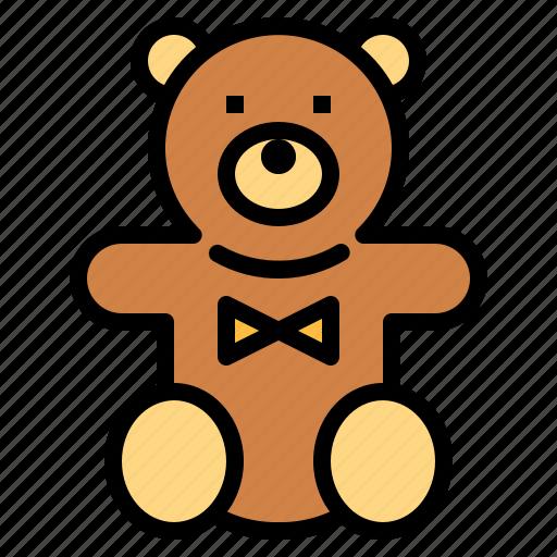 animal, bear, children, fluffy, puppet, teddy icon