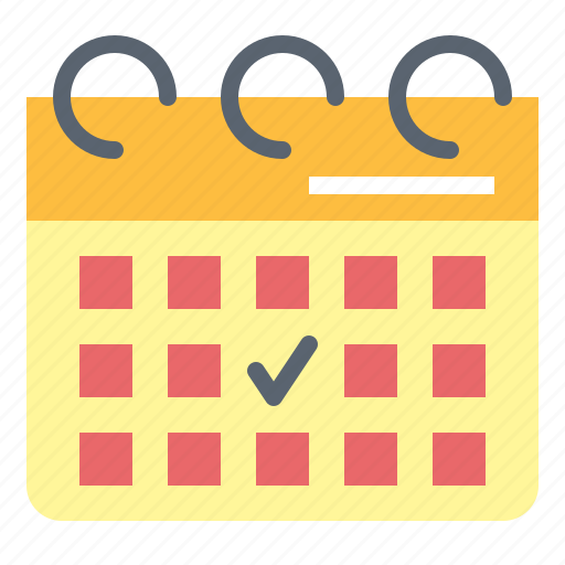 and, calendar, date, schedule, time icon