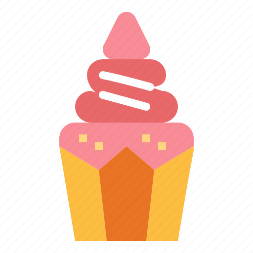 and, bakery, birthday, candle, cupcakefood, dessert icon