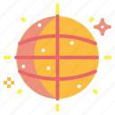 ball, club, dance, disco, entertainment, party icon
