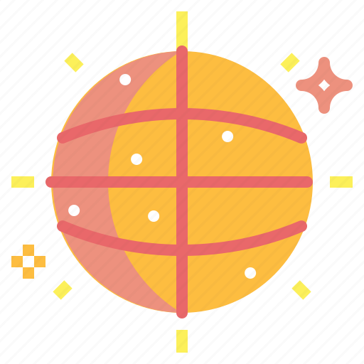 ball, club, dance, disco, entertainment, party icon