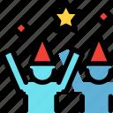 birthday, celebration, happy, party icon