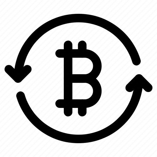 bitcoin, currency, digital, exchange, value icon