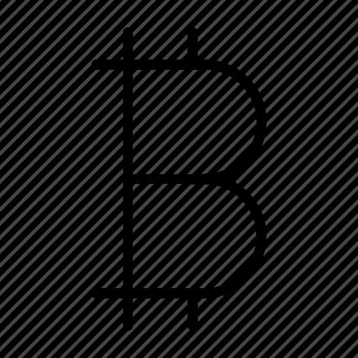 bitcoin, crypto, digital currency, money, virtual icon