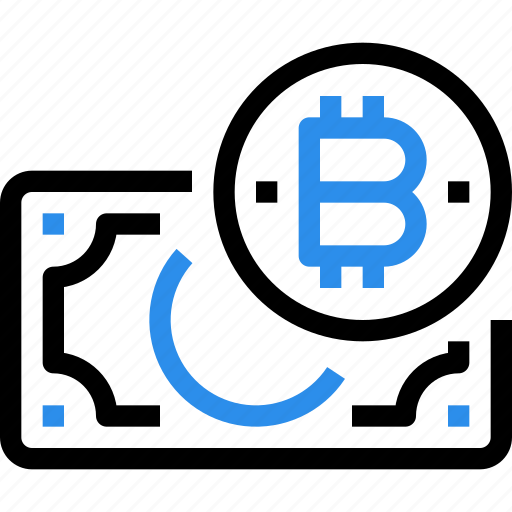bank, banking, bitcoin, currency, digital, money icon