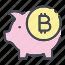 bank, bitcoin, blockchain, crypto, cryptocurrency, pig, piggy