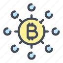 bitcoin, blockchain, connection, crypto, cryptocurrency, digital, network