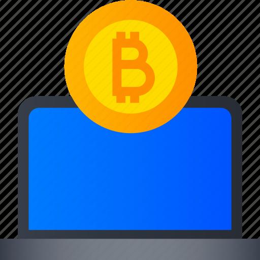 bitcoin, blockchain, crypto, cryptocurrency, digital, keychain, mining icon
