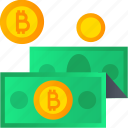 bitcoin, blockchain, crypto, cryptocurrency, digital, keychain, mining icon