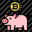 bank, bitcoin, cash, coin, money, saving, wallet
