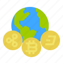 bitcoin, cash, coin, cryptocurrency, currency, money