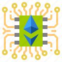 cash, coin, cryptocurrency, currency, digital, money icon