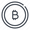 bitcoin, blockchain, coin, crypto, cryptocurrency, currency, money icon
