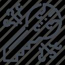 bitcoin, blockchain, crypto, cryptocurrency, key, password, security icon