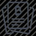 bitcoin, blockchain, crypto, cryptocurrency, document, files, report icon