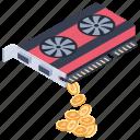 bitcoin card, bitcoin graphics, cryptocurrency graphics, ripple graphic card, video graphic card