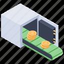 bitcoin box, bitcoin safe box, bitcoin security, bitcoin storage, bitcoin wallet icon