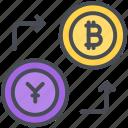 bitcoin, chinese, currency, exchange, money, yen, yuan
