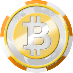 Bitcoin Casino Chip Coinsphere Icon