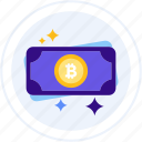bitcoin, bitcoin cash, cash, cryptocurrency icon