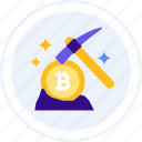 axe, bitcoin, crypto, cryptocurrency, mining