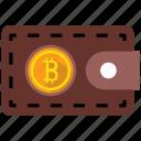 bitcoin, wallet, coin, purse