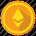 ethereum, crypto, cryptocurrency icon