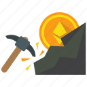 ethereum, mining, cryptocurrency, mine icon